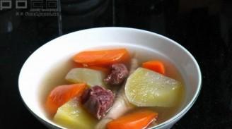 雪莲果汤的做法