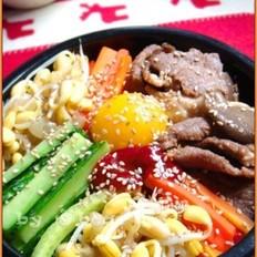 牛肉石锅拌饭的做法