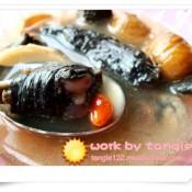 板栗菌菇乌骨鸡汤的做法