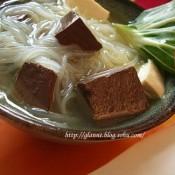 鸭血豆腐粉丝汤的做法
