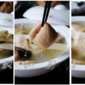 油豆腐木耳笋鸡汤的做法