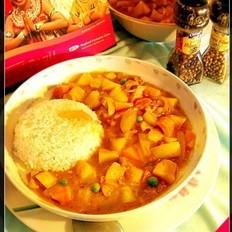 印式咖喱鸡饭