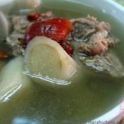 牛蒡猪骨汤的做法