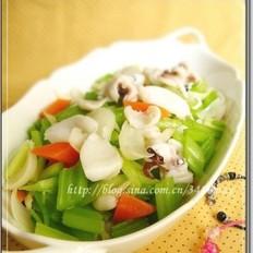 百合干菜谱芹菜杰美食v百合基围虾怎么做肉最嫩图片