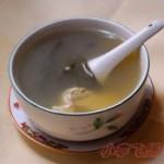菜干咸鱼头豆腐汤