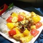 彩椒鮮果咖哩飯