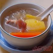 雪莲果猪肉汤的做法