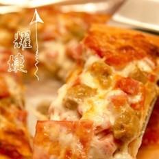 牛肉粒火腿披萨