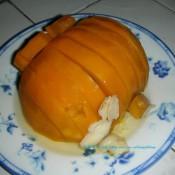 红枣百合蒸南瓜