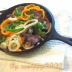 铁板牛肉和鸡柳的做法