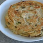脆脆葱油盘丝饼