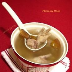 花生鸡脚排骨洋葱杰菜谱v花生美食煲汤图片