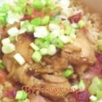 糙米咸肉鸡块饭的做法