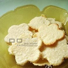 椰絲花花餅干