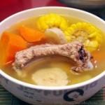 粉葛粟米排骨汤的做法