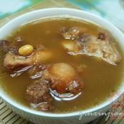 牛尾黄豆汤的做法