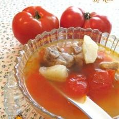 排骨番茄土豆汤的做法