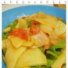 土豆西红柿青椒