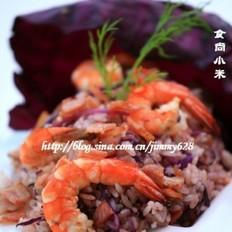 生蚝家里怎么做紫甘蓝乳酪烩米饭的做法