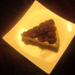 杨梅起司蛋糕