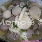 芝士拉面怎么做杂菌牛丸汤的做法