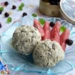 绿茶红豆冰淇淋
