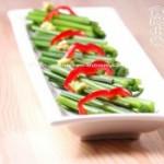 鱼露辣椒韭苔的做法