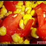 番茄玉米饭