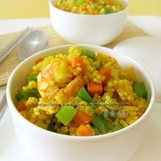 海鮮咖喱炒飯