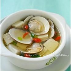 枸杞文蛤汤