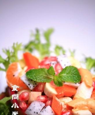 橘子胡蘿卜水果沙拉的做法