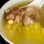 凉瓜煮黄豆