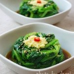 补肝养血-姜汁菠菜的做法