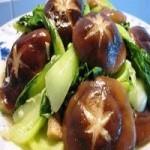 油菜香菇的做法