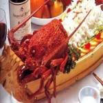 煎龙虾肉─苹果酒风味调味汁