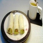 蔬菜吐司卷