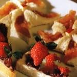 草莓红豆派