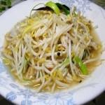 虾皮炒绿豆芽