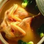 桑寄生老母鸡汤