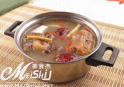 做法汤的做法【牛尾图】_腊肉_大全杰白菜谱干炒美食的辣椒步骤家常图片