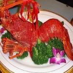 清蒸大龙虾