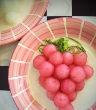 葡汁秋梨的做法