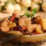 冬笋焖羊肉的做法
