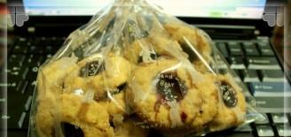 蓝莓果酱饼干的做法