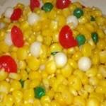 柿椒炒嫩玉米