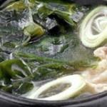 海带猪腰汤