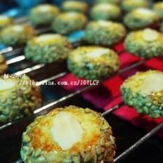 芝麻杏仁小饼