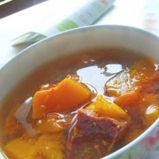 牛肉南瓜汤