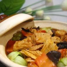 鲜蔬豆腐煲