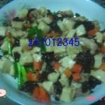 五彩豆腐粒